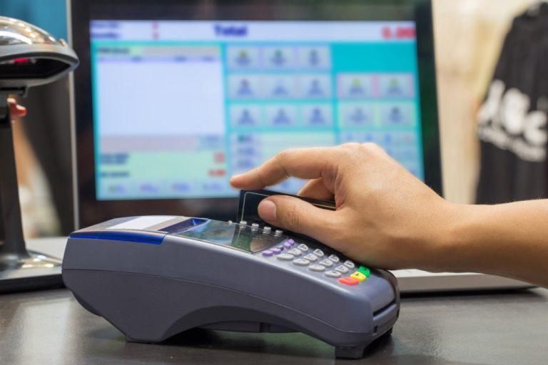 credit card swiping