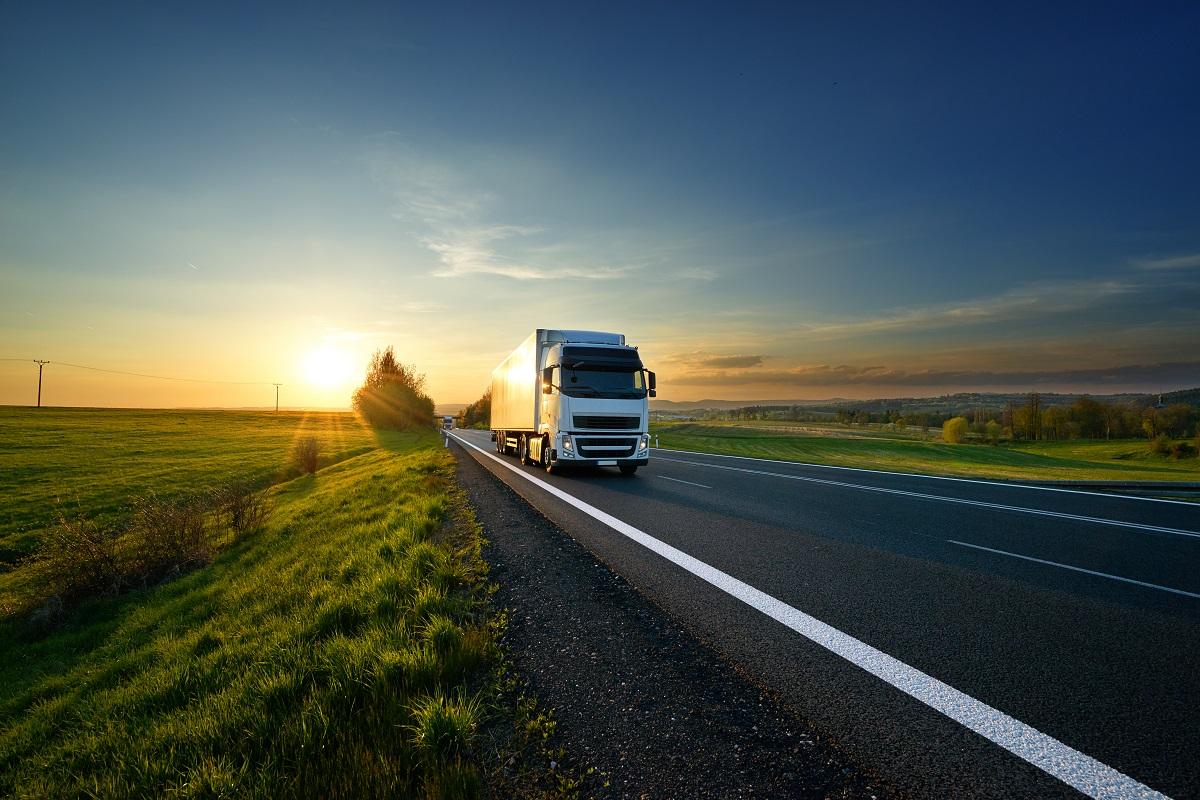 truck in pursuit