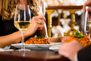restaurant date concept