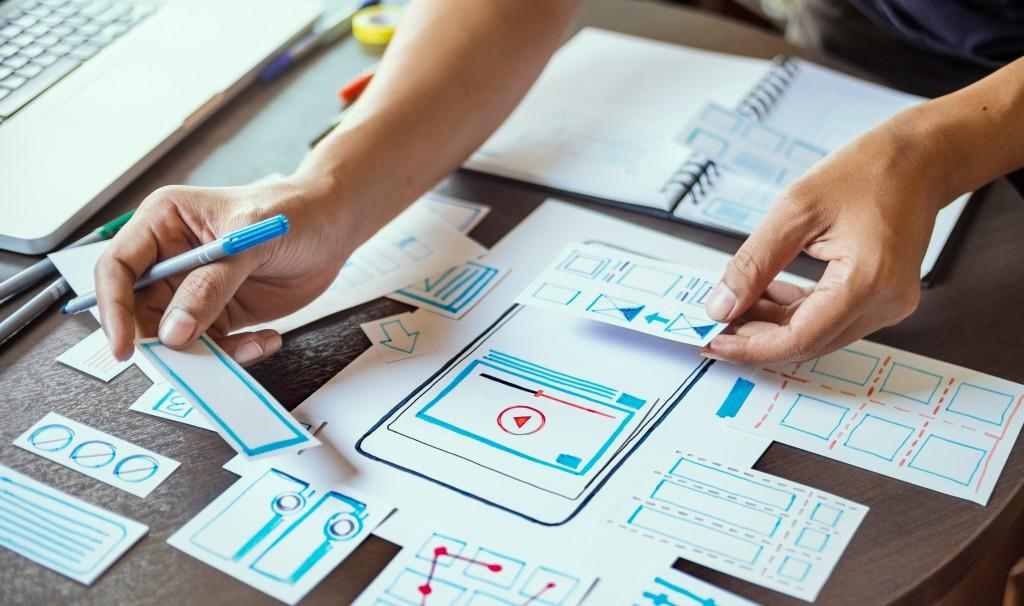 Creative graphic plan