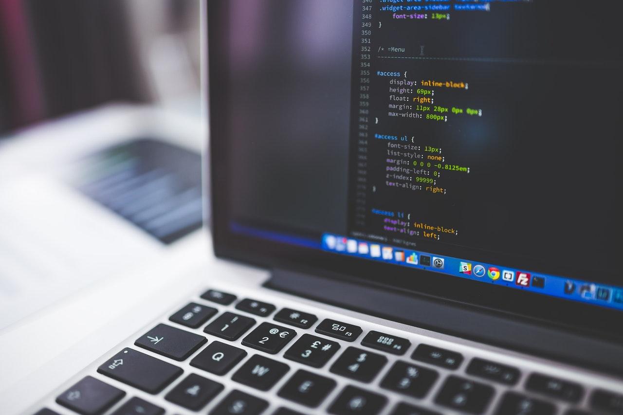 laptop coding programming