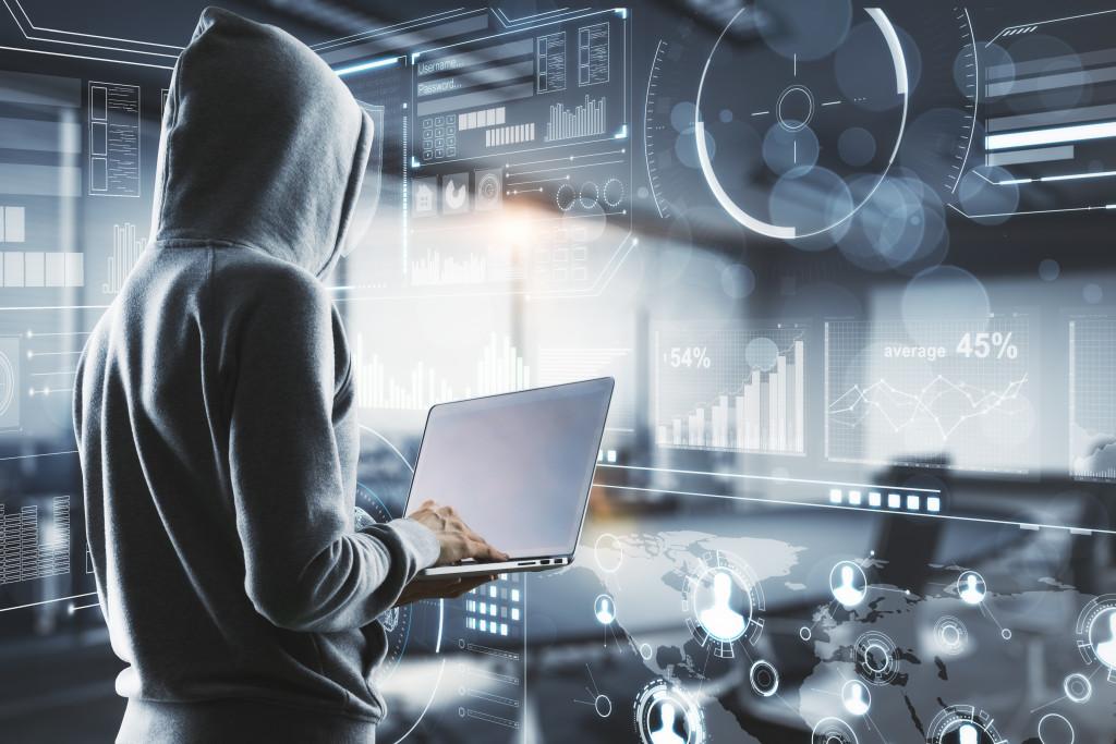 hacker blocked by tech wall