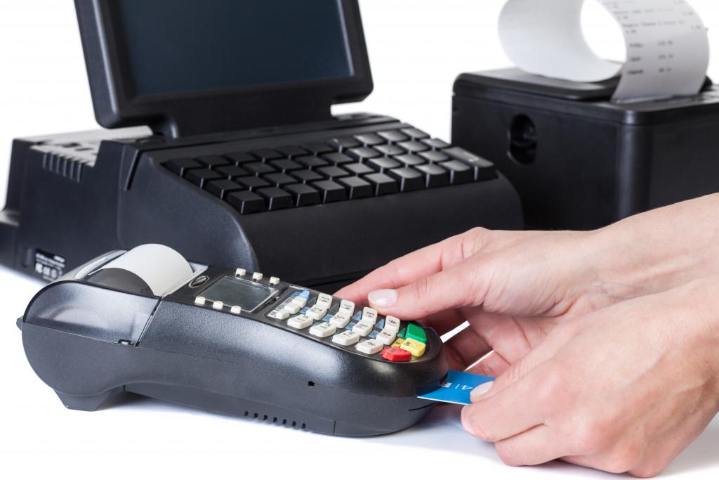 buying using credit card