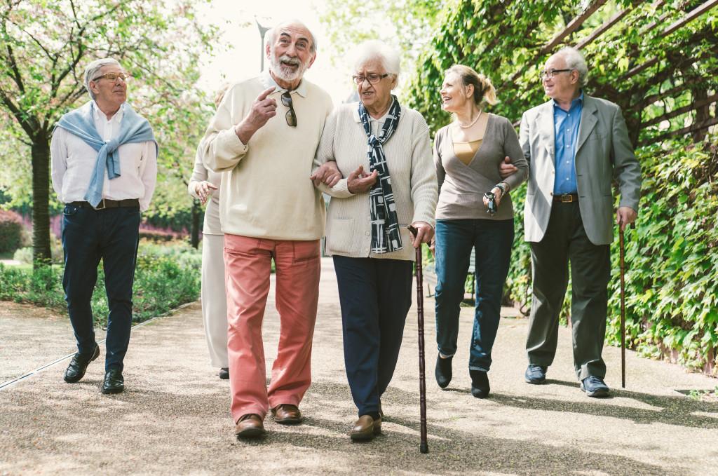 elderly community